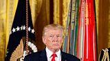 ترامب لرئيس المكسيك: لا تصرح بإنك لن تمول الجدار الحدودي بين البلدين