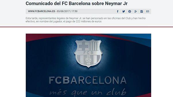 Neymar 5 éves szerződést írt alá a PSG-vel