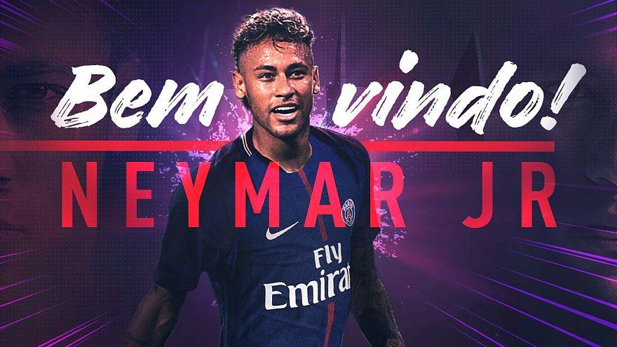Neymar aláírt a PSG-hez