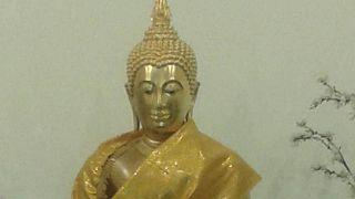 Buddha statue stolen from Botswana temple ahead of Dalai Lama visit