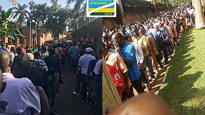 Huge diaspora turnout in Rwanda presidential elections