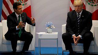 Trump pediu ao Presidente do México para não dizer que não pagaria muro