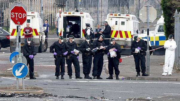 Image: BRITAIN-NIRELAND-UNREST