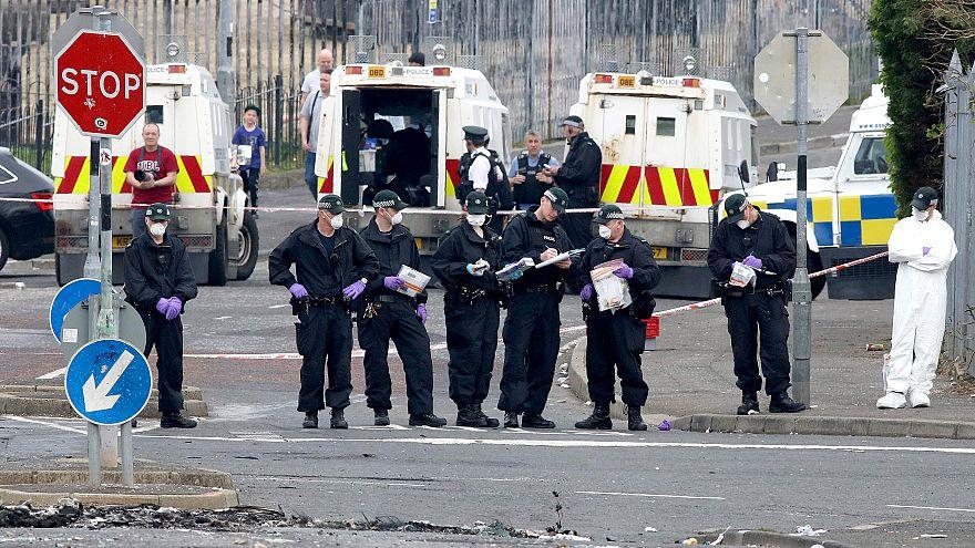 Image: BRITAIN-NIRELAND-UNREST