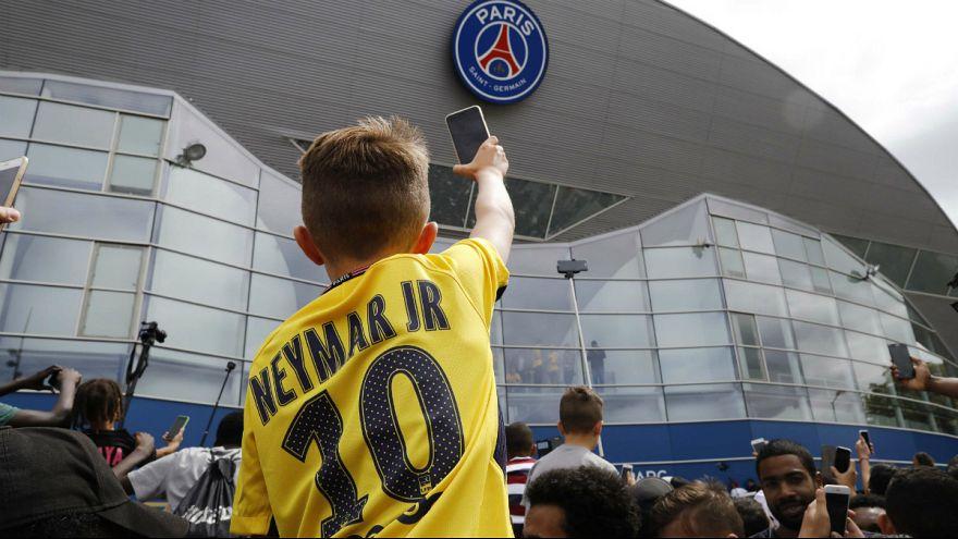 Neymar, rey de Francia