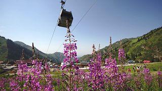 Almati, a szabadtéri sportok kazahsztáni paradicsoma