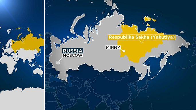 احجار الماس تخلف 9 مفقودين في روسيا
