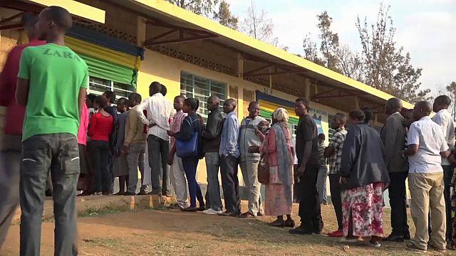 Amtsinhaber Kagame Favorit bei der Präsidentschaftswahl in Ruanda