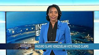 Venezuela vote fraud claims, Trump signs Russia sanctions [International Edition]