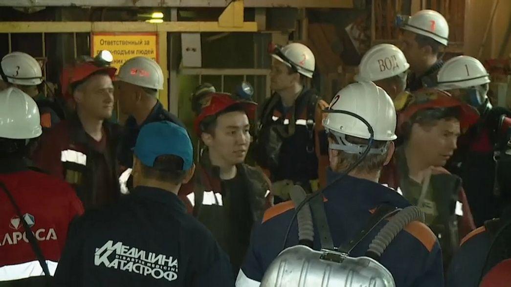 Russia: si allaga una miniera di diamanti, nove dispersi