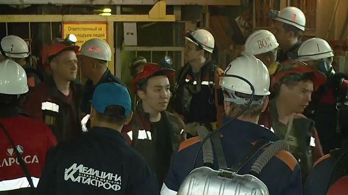 Rusya'da maden faciası: 9 işçi kayıp