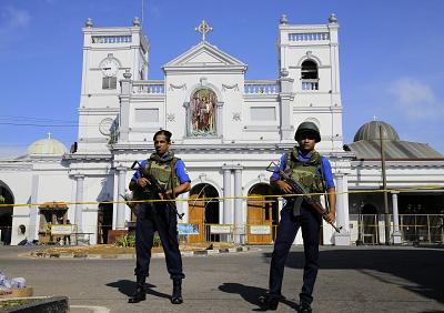 St. Anthony\'s Shrine in Colombo, Sri Lanka, was among the sites targeted.