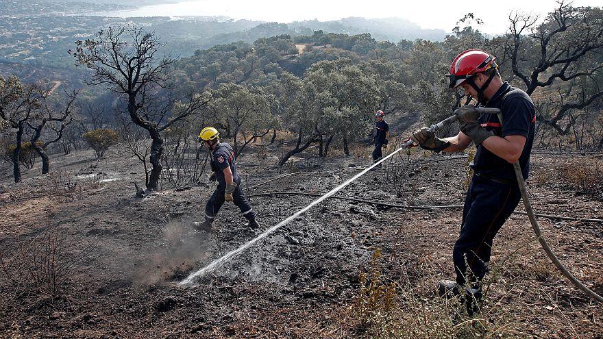 Les feux continuent de gagner du terrain en Corse
