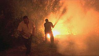 Incêndio em Verín converte-se no maior do ano na Galiza