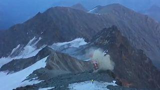 Helikopterbaleset Ausztriában