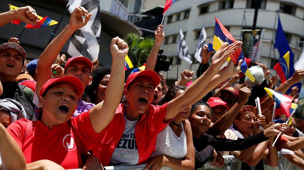 Venezuela'da tartışmalı Kurucu Meclis ilk kez toplandı