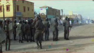 Mauritania opposition protest referendum