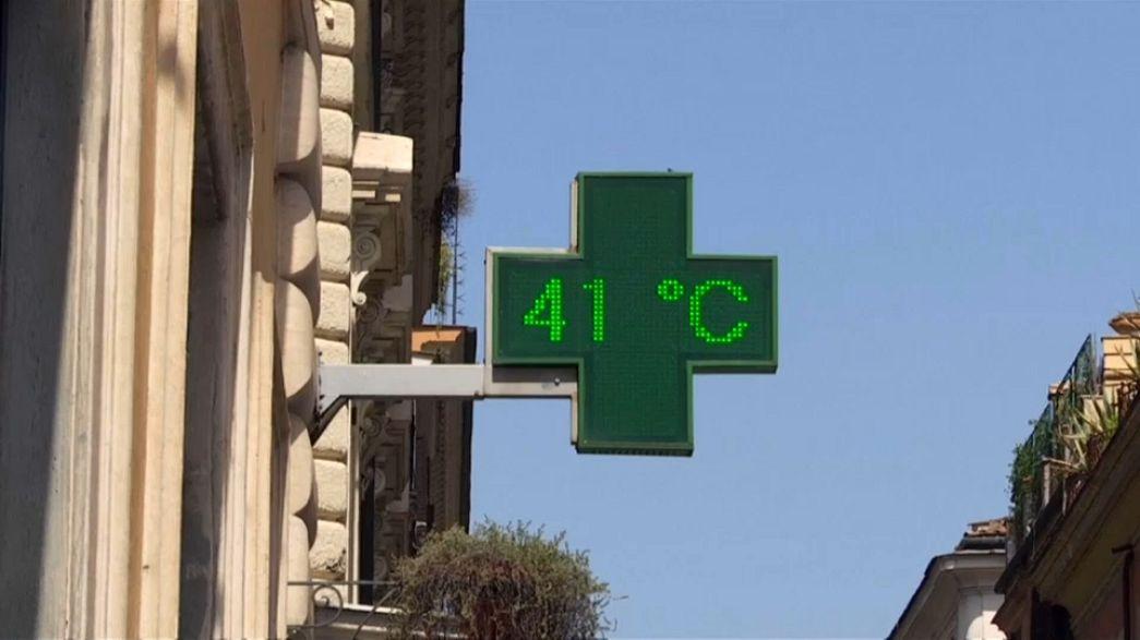 Европейцев убивает жара