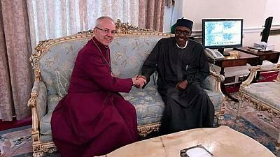 BreakingNews 5/8/17 - Archbishop of Canterbury visits Buhari in London