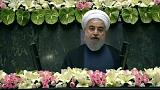 Iran: Rouhani lashes out at US as he is sworn in for second term