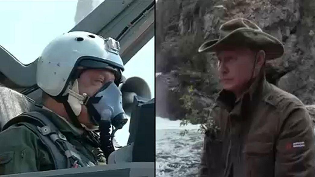 Кто сильнее: Путин против Порошенко