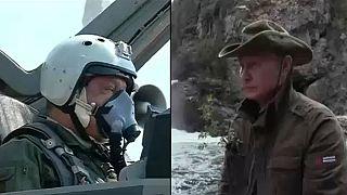 Putin ve Poroşenko'dan 'macera' dolu tatil
