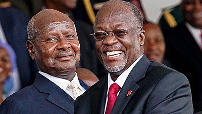 Yoweri Museveni et John Magufuli lancent les travaux de construction d'un pipeline