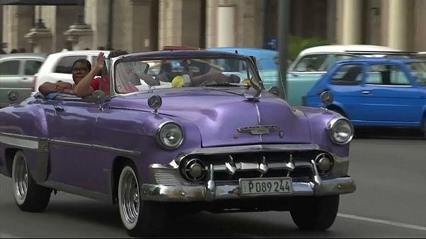 Im Ami-Schlitten durch Havanna