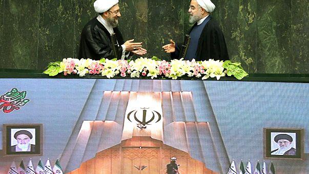 Irán: Haszán Róhani megkezdte második elnöki mandátumát