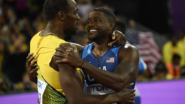 Gatlin stuns in London to win 100m leaving Bolt with bronze