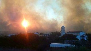 Για τέταρτη μέρα μαίνονται φωτιές στα Κύθηρα