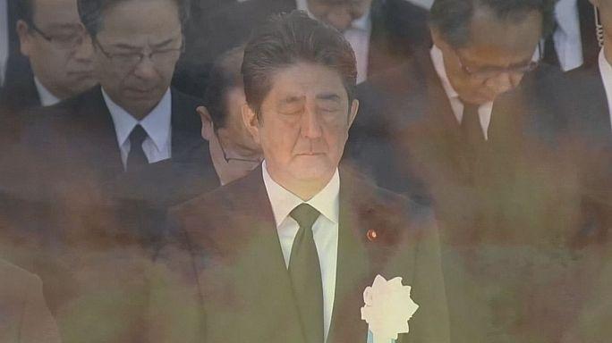 Japan erinnert an Atombombenabwurf vor 72 Jahren