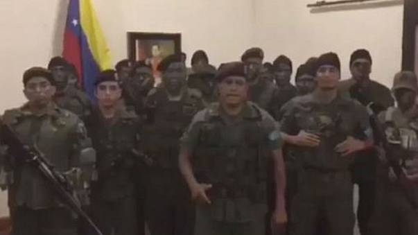 Failed military uprising in Venezuela