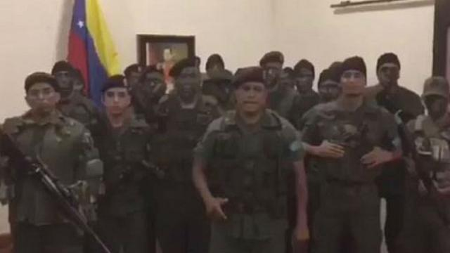 Rebelião no exército venezuelano