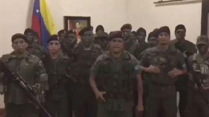 Tentativa de rebelión militar contra Maduro en la ciudad venezolana de Valencia