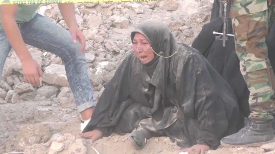 Découverte d'un charnier à Tikrit