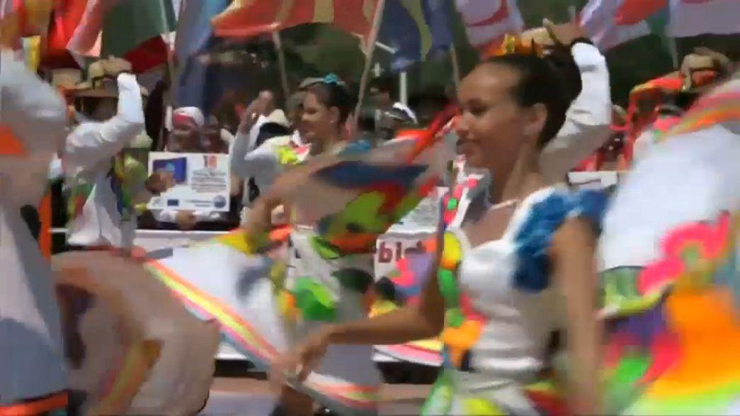 شاهد.. مهرجان الرقص والحب بمذاق اسطنبولي