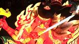 Japonya'da Nebuta festivali zamanı