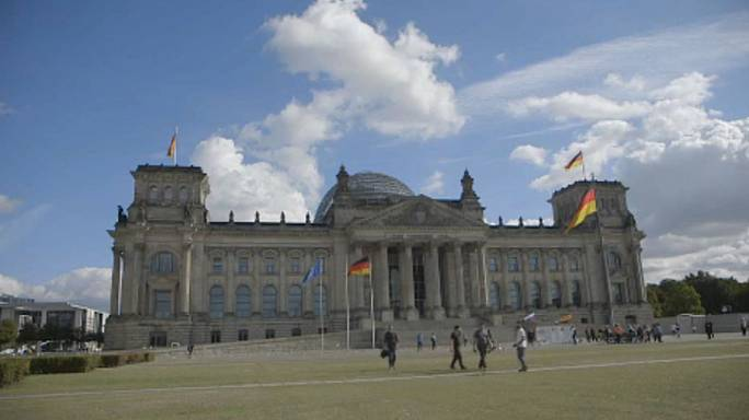 Náci karlendítés Berlinben
