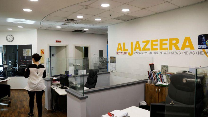 Israele annuncia la chiusura degli uffici di Al-Jazeera