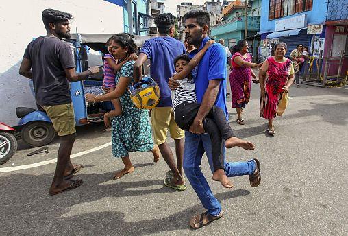 Image: Sri Lanka terrorist attack