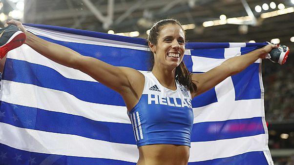 Παγκόσμια πρωταθλήτρια η Κατερίνα Στεφανίδη