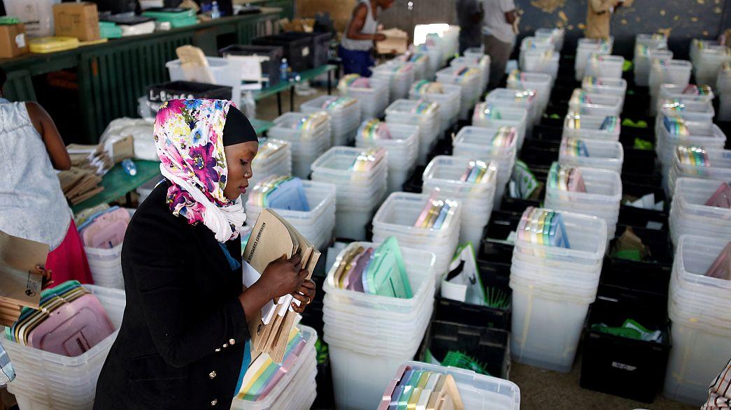 Új választások, régi ellenfelek Kenyában