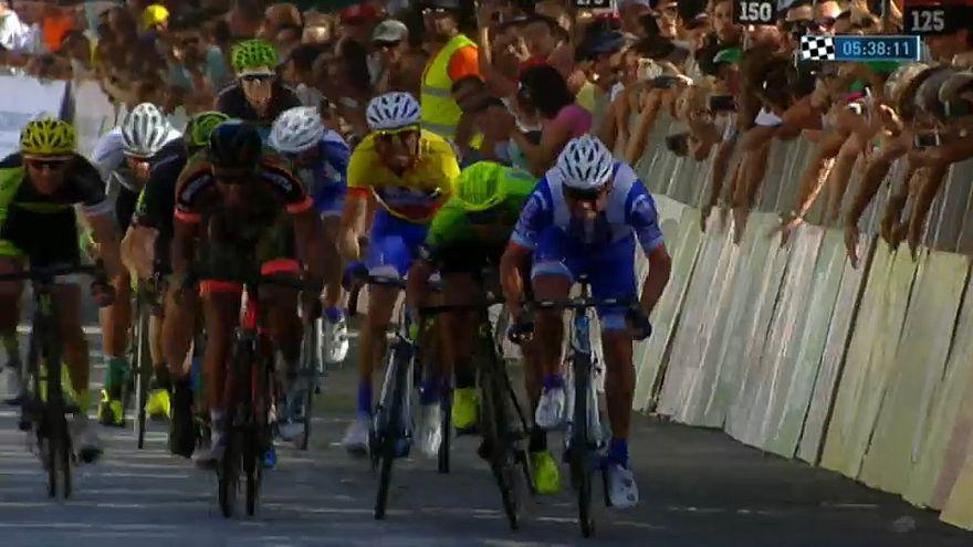 Samuel Caldeira vence etapa da Volta a Portugal