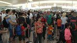 Continúa la huelga en los controles del aeropuerto de El Prat