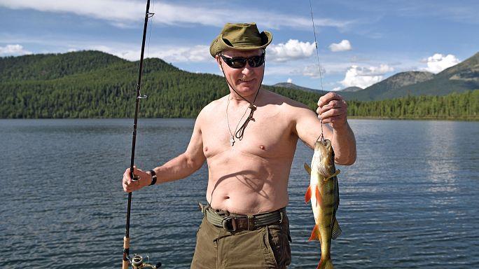 Nyaralni ment Putyin