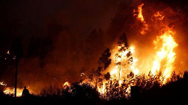 Italian firefighters arrested on suspicion of arson