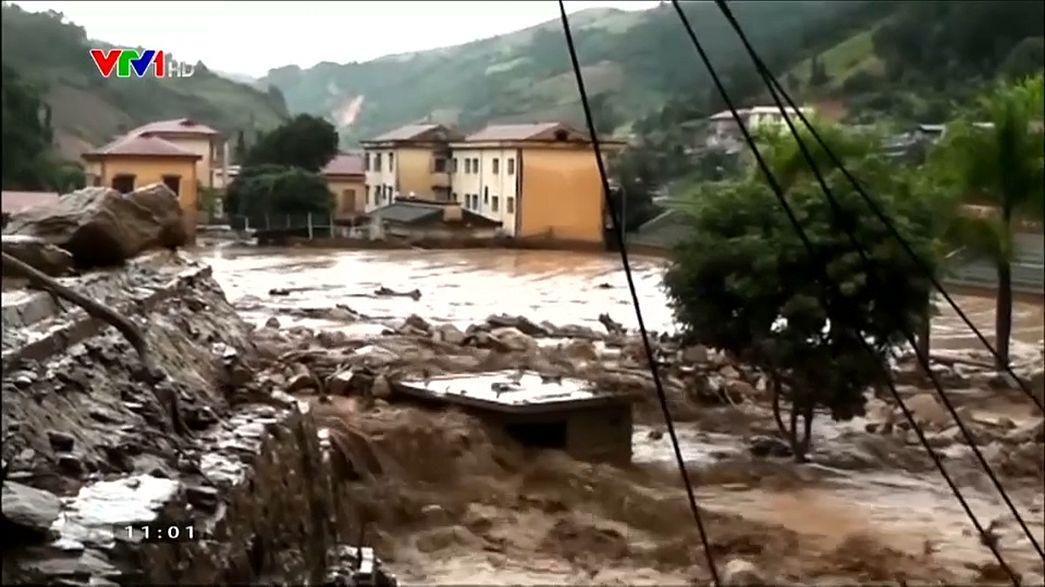 Vietnam floods leave dozens dead
