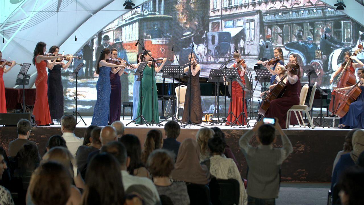 Azeri klasszikus dallamok a Gabala fesztiválon