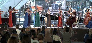 جشنواره موسیقی قبله آذربایجان میزبان موسیقی دانان از سراسر دنیا